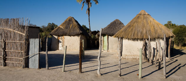 Mathangwane, in the Central District of Botswana