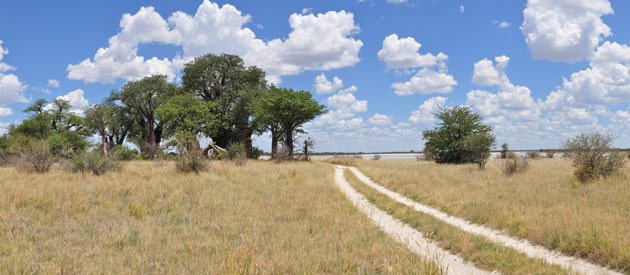 Maunatlala, in Central District of Botswana
